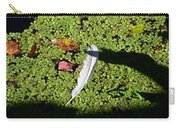 White Feather Lost Carry-all Pouch