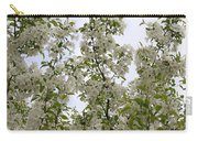White Flowers On Branches Carry-all Pouch