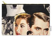 White German Shepherd Art Canvas Print - Suspicion Movie Poster Carry-all Pouch