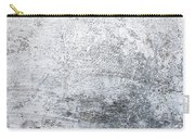 White Grungy Cement Wall Carry-all Pouch