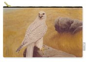 White Gyrfalcon Carry-all Pouch