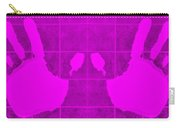 White Hands Purple Carry-all Pouch