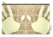 White Hands Sepia Carry-all Pouch