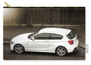 White Hatchback Car Carry-all Pouch