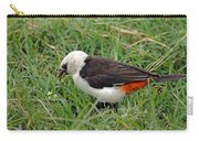 White Headed Buffalo Weaver Carry-all Pouch
