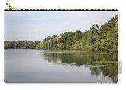 White Heron Lake Poconos Pa II Carry-all Pouch by John Telfer