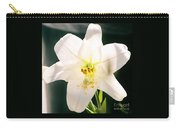 Easter Lily Up Close, Bermuda Carry-all Pouch