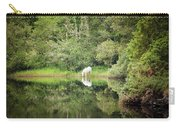 White Horse Drinking Water Carry-all Pouch