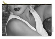 White Hot Bw Palm Springs Carry-all Pouch