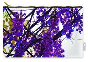 White Hot Wisteria Carry-all Pouch