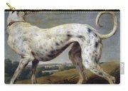 White Hound Carry-all Pouch