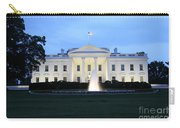 White House In Eveninglight Washington Dc Carry-all Pouch