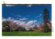 White House Lawn In Spring Carry-all Pouch