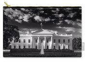 White House Sunrise B W Carry-all Pouch