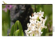 White Hyacinth In The Garden Carry-all Pouch