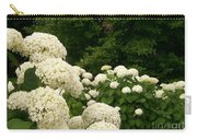 White Hydrangeas Carry-all Pouch