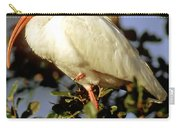 White Ibis Eudocimus Albus Carry-all Pouch