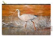 White Ibis Stroll Carry-all Pouch