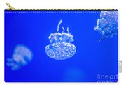 White Jelly Fish Carry-all Pouch