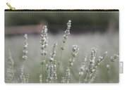 White Lavender Carry-all Pouch