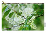 White Lilac Carry-all Pouch