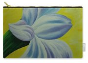 White Lilly Carry-all Pouch