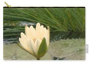 White Lily Near Pond Grass Carry-all Pouch