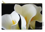White Lily Trio Carry-all Pouch