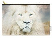 White Lion - Spirit Of Goodness Carry-all Pouch