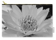 White Lotus 2 Bw Carry-all Pouch