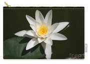 My White Lotus Carry-all Pouch