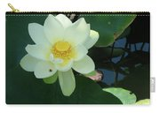 White Lotus I Carry-all Pouch