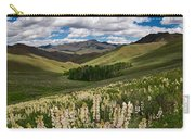 White Lupine Carry-all Pouch