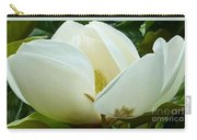 White Magnolia Elegance Carry-all Pouch