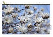 White Magnolia Magnificence Carry-all Pouch