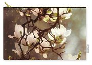 White Magnolias Carry-all Pouch