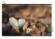 White Mushroom Long Gills Carry-all Pouch