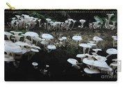 White Mushrooms Amazon Jungle Brazil 1 Carry-all Pouch