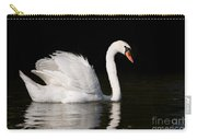 Mute Swan Cygnus Olor At Lake In Ruciane Nida  Carry-all Pouch