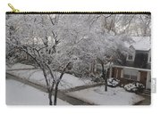 White Neighbourhood Carry-all Pouch