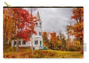 White New Hampshire Church Carry-all Pouch