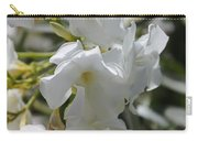White Oleander Carry-all Pouch