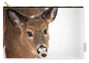 White On The Nose Carry-all Pouch