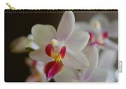 White Orchid Close Carry-all Pouch