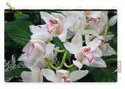 White Orchid In Full Bloom Carry-all Pouch