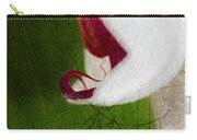 White Orchid Scratched Carry-all Pouch