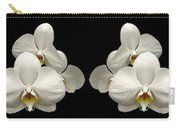 White Orchids Panorama Carry-all Pouch