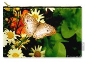 White Peacock Butterfly I I I Carry-all Pouch