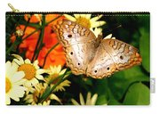 White Peacock Butterfly I V Carry-all Pouch