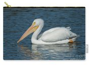 White Pelican Swimming Carry-all Pouch